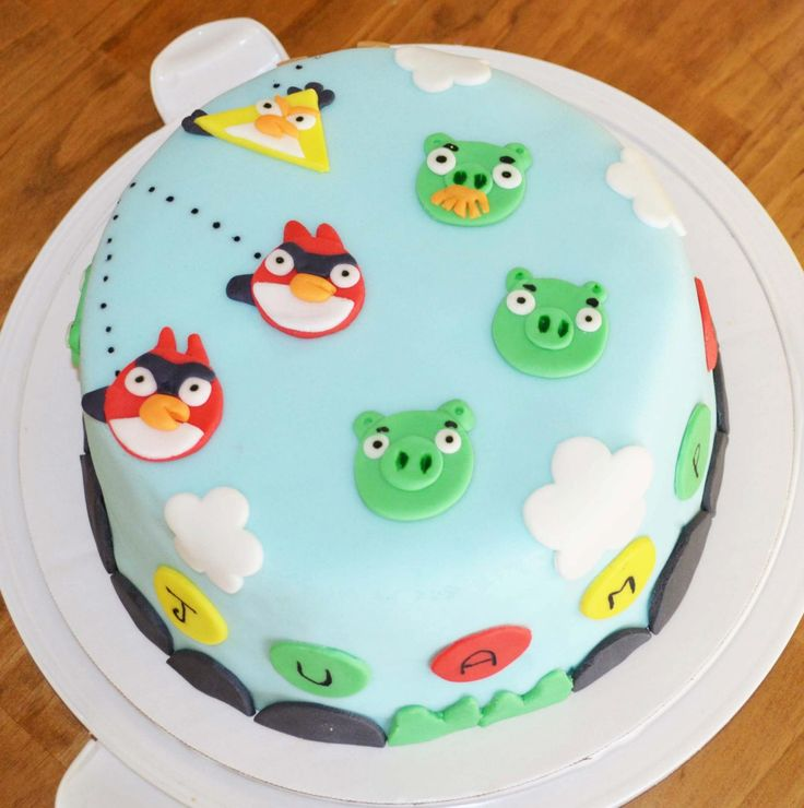 Angry Birds, by Tortas Maca