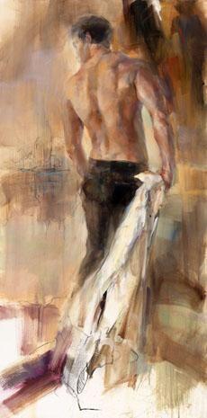 Anna RAZUMOVSKAYA. The winner [oil on canvas].