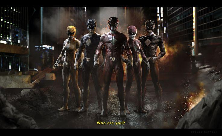 ArtStation - Power Rangers Redesign, Carlos Dattoli