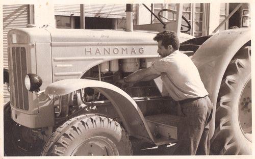 Grandpa - Tractor