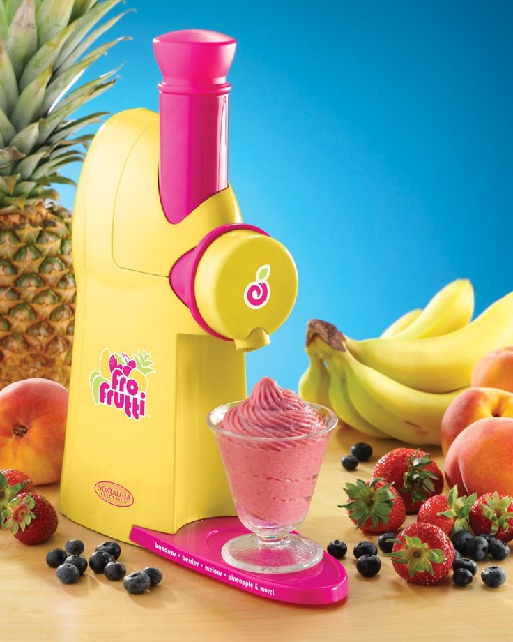 Frozen Fruit Dessert Maker! $93.50 More Electric Kitchen Gadgets at: http://coolkitchengadgets.net/category/electric/