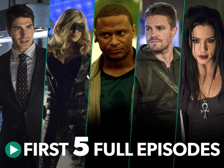 There's better way to spend the weekend than with #Arrow! Watch the first 5 episodes for FREE: