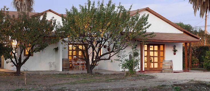 Casa Pando Bed and Wine in Santa Cruz Colchagua Chile - #Pinterest-Colchagua-Tours-Hotels.