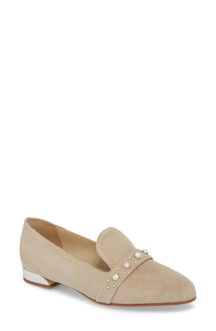 BUTTER SHOES | Butter Tamra Embellished Loafer #Shoes #Flats #BUTTER SHOES