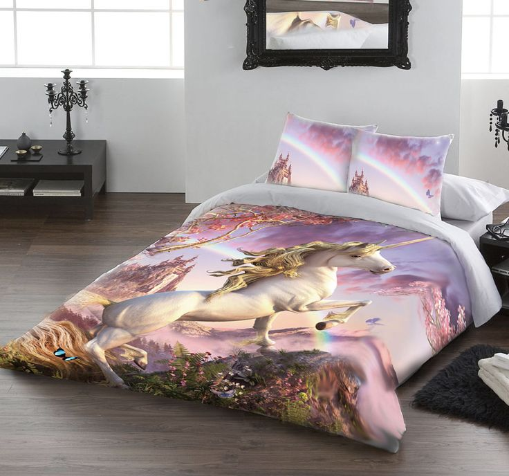 Awesome Unicorn Duvet Cover Set By David Penfound Available In  Sizes