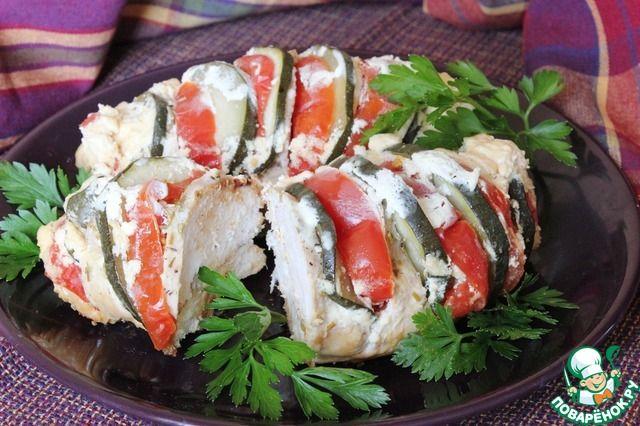 Куриные грудки с овощами в соусе ингредиенты