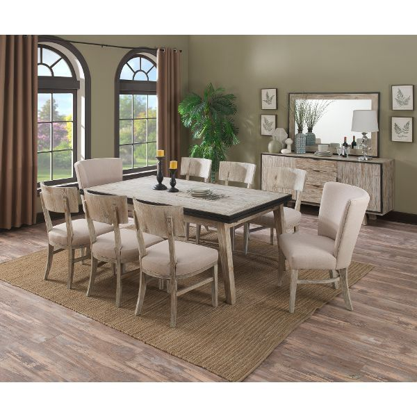 A Unique Look Always Brings A Fun Sense Of Style To Any Room And This 5 · Upholstered  Dining ChairsDining Room Furniture7 Piece ...