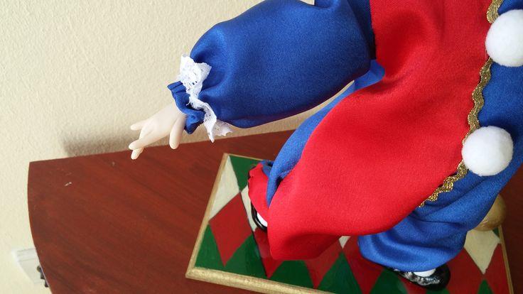 clown. клоун. handmade dolls.