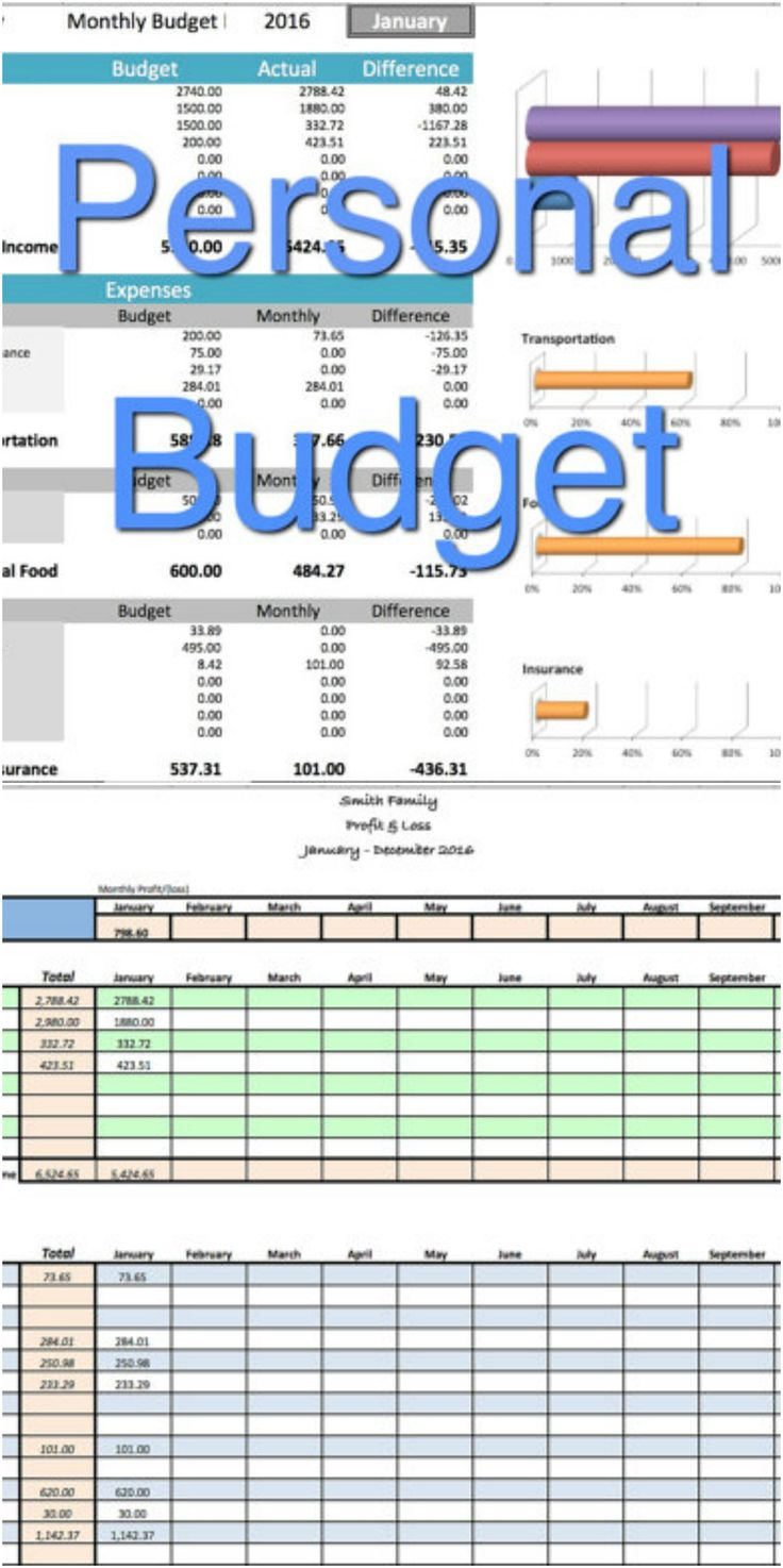 excel template household expenses