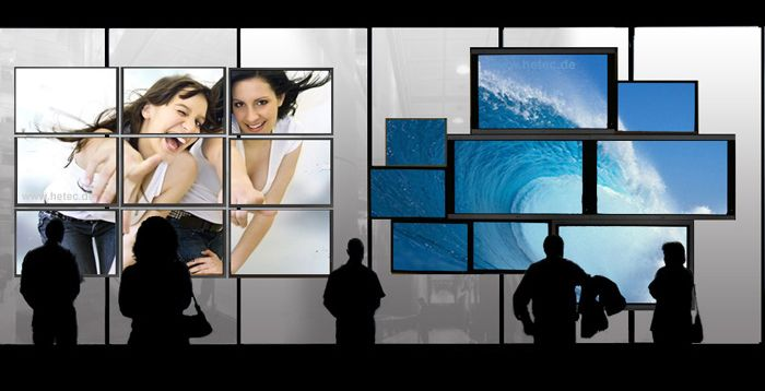 Ultra-narrow Border Videowall Display