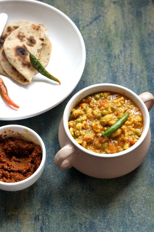 65 best marwadi food images on pinterest cooking food indian food merry tummy marwadi mangodi mattar a classic rajasthani dish forumfinder Choice Image