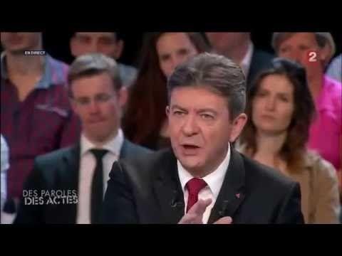 Mélenchon allume Jacques Attali en direct sans respect et sans compassion - YouTube