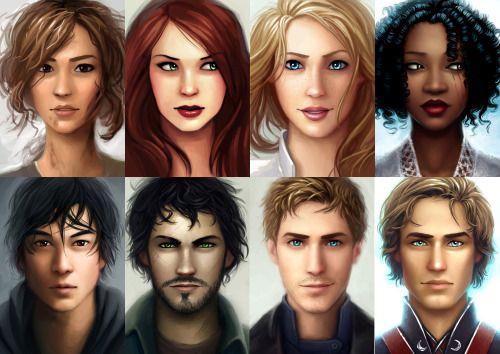Cinder, Kai, Scarlet, Wolf (Ze'ev), Cress, Thorn, Winter, Jacin