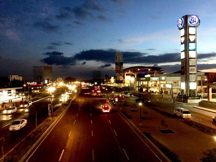 The city at night - Iloilo City, Philippines