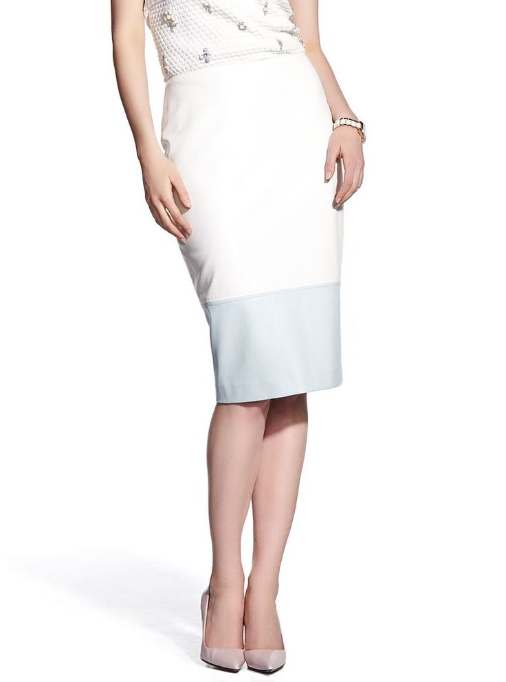 Faux Leather Pencil Skirt from Reitmans, $46
