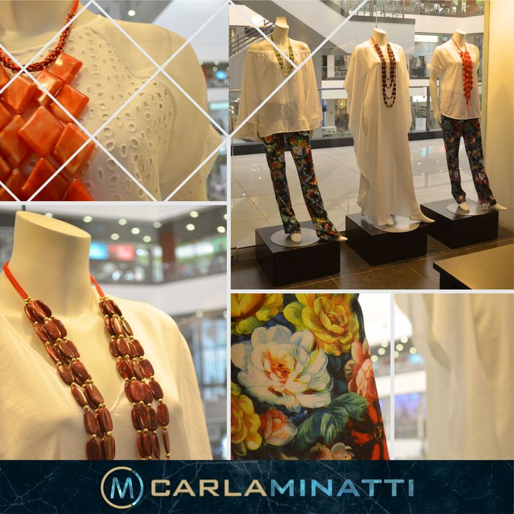 La combinación de hoja rota y seda, las túnicas y los estampados con colores fuertes hacen parte de nuestra nueva colección Arabia.