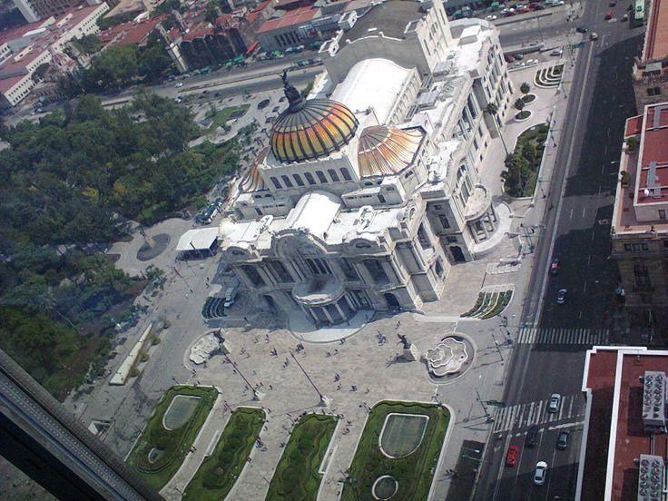"""""""Palacio de Bellas Artes desde el mirador de la Torre Latinoamericana"""", foto 2"""