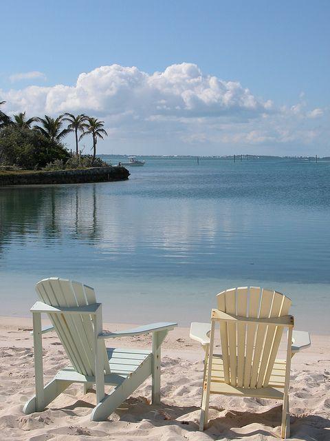 (credit ⚓ René Marie Photography) ⚓ Beach Cottage Life ⚓: Beach Chairs, Adirondack Chairs, Beaches, Beach Cottages, Happy Place, Marie Photography, The Beach, Beach Life, Bahamas