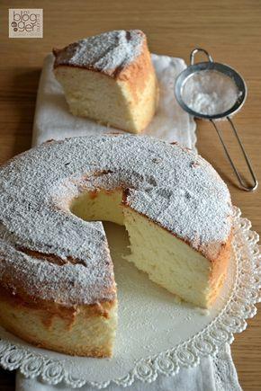 #angelcake - Se cercate una torta leggera assolutamente senza grassi provate la angel cake, o torta degli angeli, che arriva dalla cucina americana.
