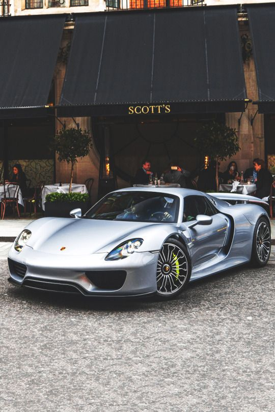 Porsche 918 Spyder. Clearly not parked outside the restaurant of the same name in Edmonds, WA.