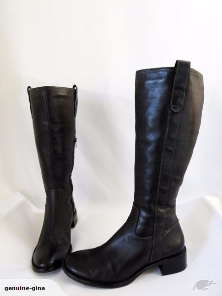 ECCO genuine leather riding style boots size 38