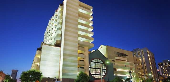 Embassy Suites New Orleans - Convention Center Hotel, La - Hotel Exterior Night View