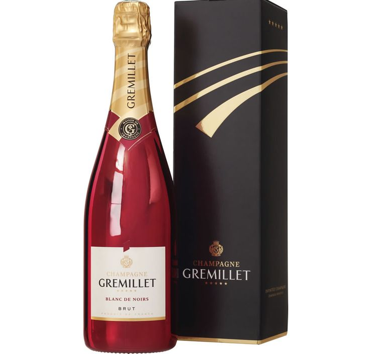 Bouteille Rouge De Champagne Gremillet   Cook Innov