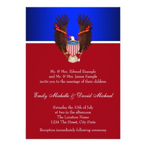 274 best military&patriotic wedding invitations images on, Wedding invitations