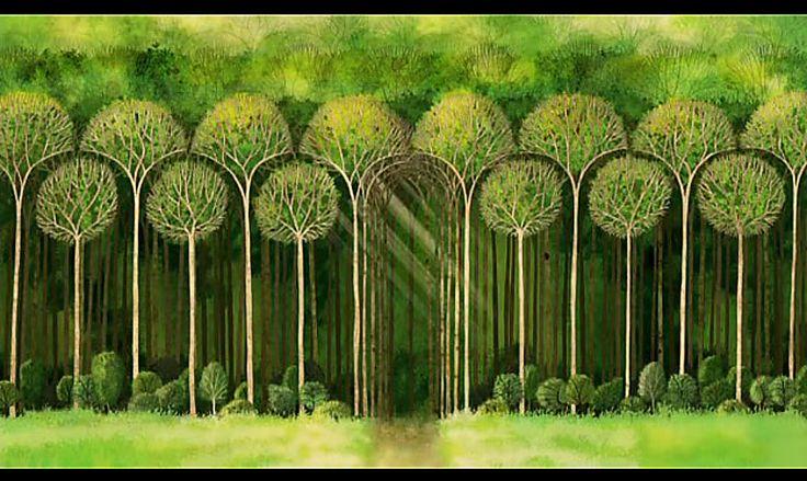 The Secret of Kells Forest Wallpaper