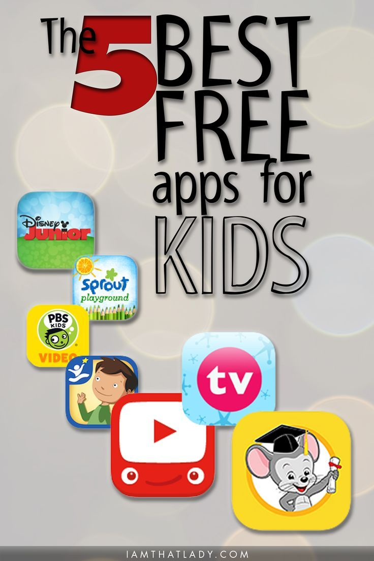 The 5 Best Free Apps For Kids Free Learning Apps Free Kids Apps Kids App
