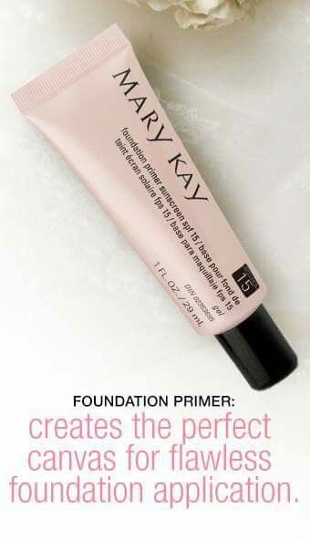 Mary Kay Foundation Primer SPF 15 http://www.marykay.com/lisabarber68 Call or text 386-303-2400