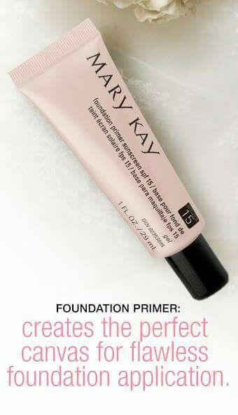 Mary Kay Foundation Primer SPF 15   http://www.marykay.com/cneighbor1