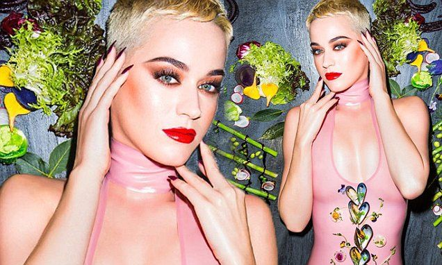 Katy Perry poses in swimsuit as she debuts Bon Appetit