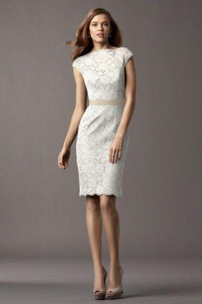 vestidos de novia para civil cortos sencillos - Buscar con Google