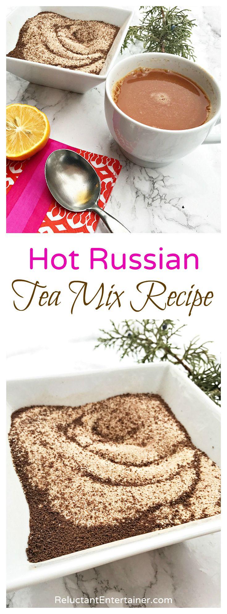 Hot Russian Tea Mix Recipe