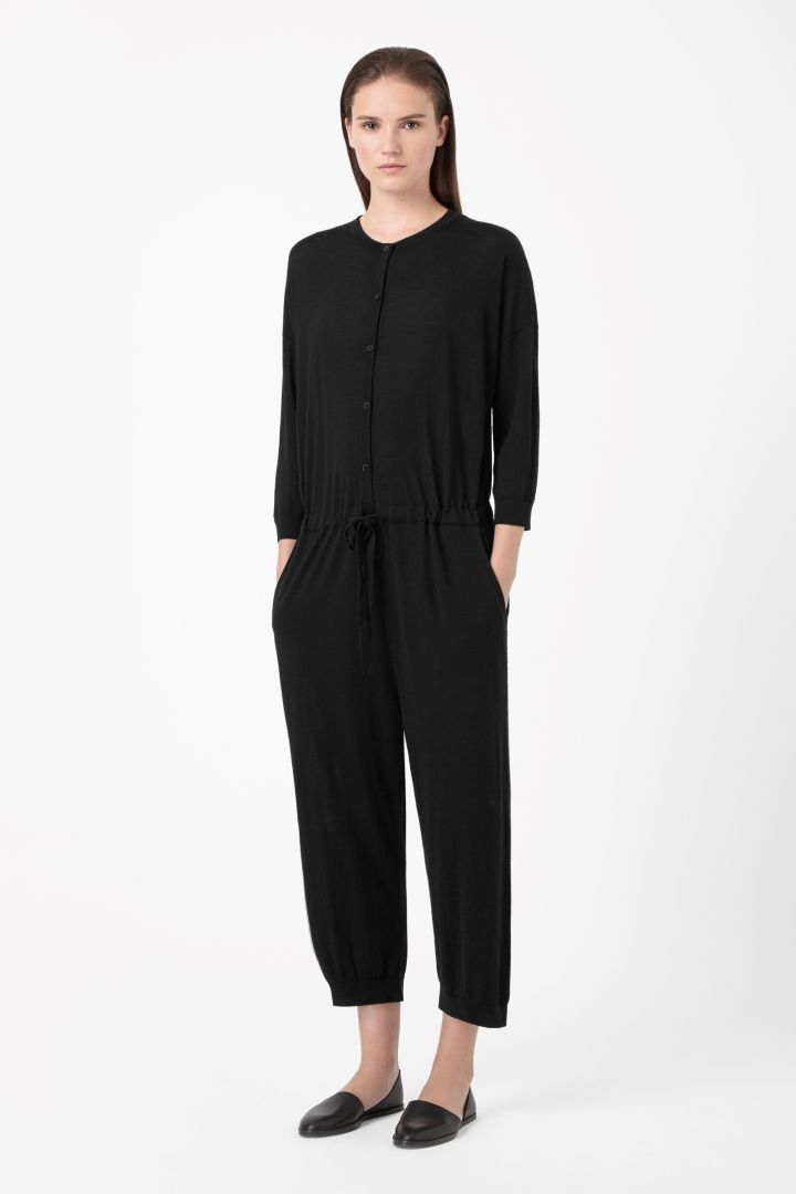 COS | Knitted merino jumpsuit