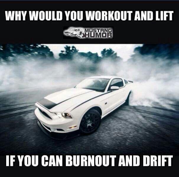 Mustang humor