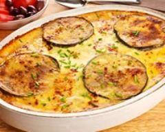 Clafoutis d'aubergines et de courgettes (facile, rapide) - Une recette CuisineAZ