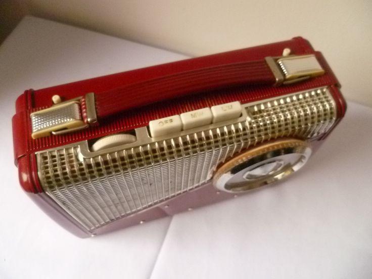 KB transistor super8, CARMINA Rhapsody 1950's by MWKIRKonETSY on Etsy