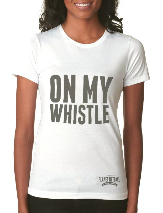 A tee shirt for an umpire or sports referee! Get me one here: http://www.planet-netball.com/shop/940-tee-omw