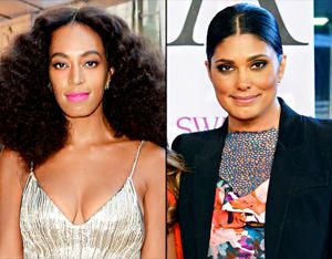 "Awkward! Solange & designer Rachel Roy made a point to avoid one another at the Council of Fashion Designers of America awards in NYC on June 2.  Solange infamously attacked her sister Beyonce's husband, Jay Z, back on May 5 after the Met Gala after spotting the rapper and the designer flirting,""Solange yelled about Rachel on Beyonce's behalf, asking Jay, 'How could you treat my sister like that?'"" the source said. ""Solange walked up and started screaming at Rachel. She was making a big…"