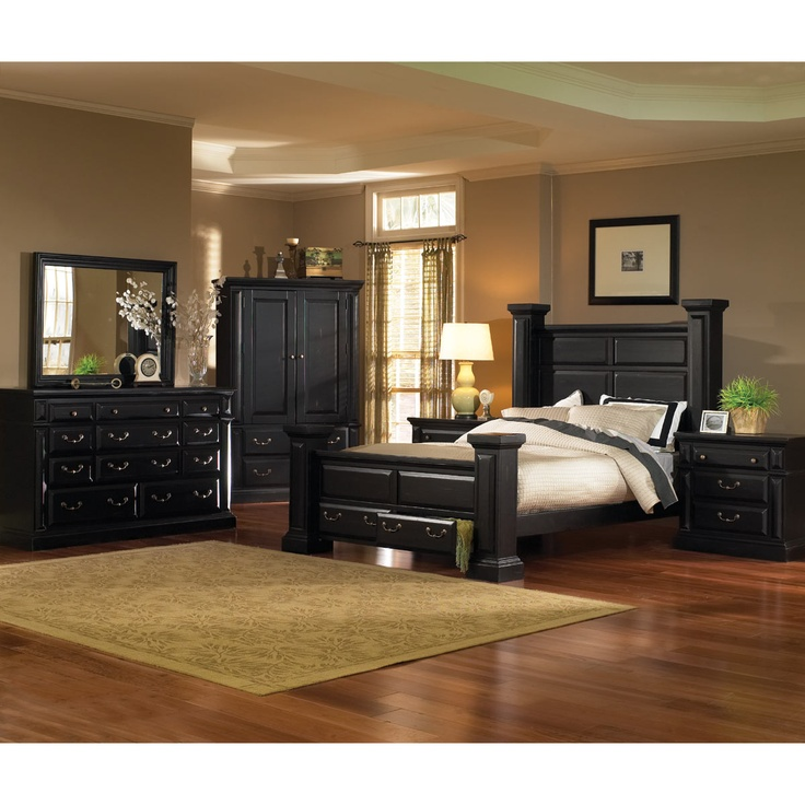 Antique Black Bedroom Furniture Alluring 18 Best Bedroom Ideas Images On Pinterest  Bedroom Suites Design Decoration