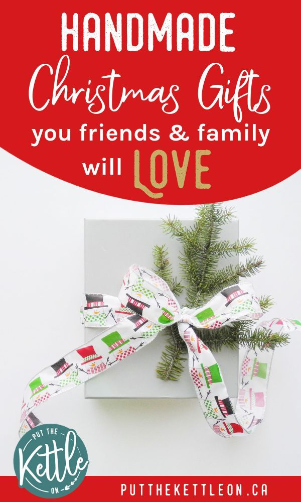 DIY Christmas Gifts Your Friends & Family Will Love   Top Blogs ...