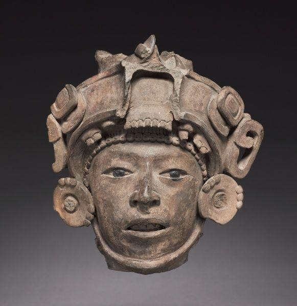 Head, c. 600-900. Mexico, Classic Veracruz, 7th-10th Century.