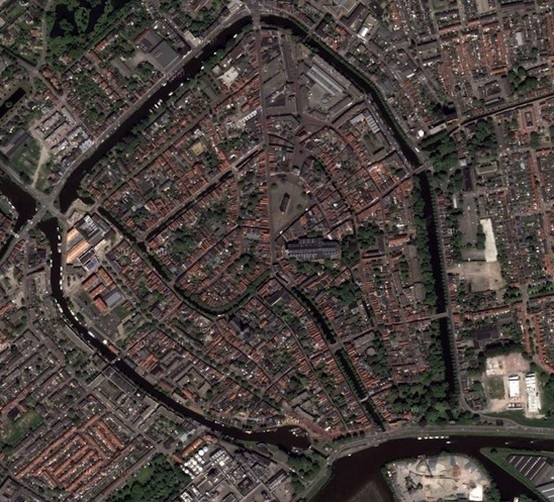 Medieval Dutch Cities With Walls - Gouda