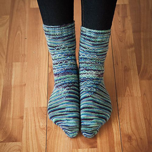 Ravelry: Mock Turtle Socks pattern by Mary E Rose
