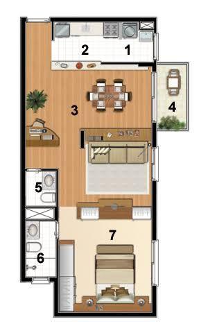 Imagini pentru loft plantas baixa
