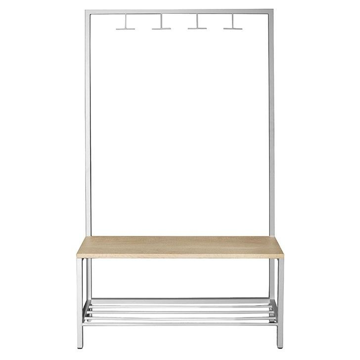 LIM | Coat Stand in White - Furniture - 5rooms.com
