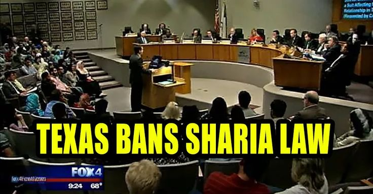 Texas BANS Sharia Law and the First Islamic Sharia Court in the USA is NOT…