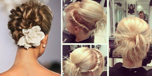 Αφιέρωμα στα επίσημα χτενίσματα (updos) για μαλλιά μεσαίου μήκους (bob)